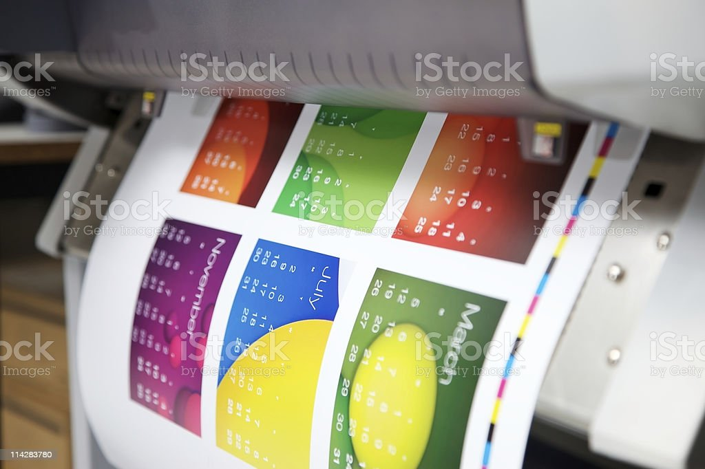 Print Out... stock photo