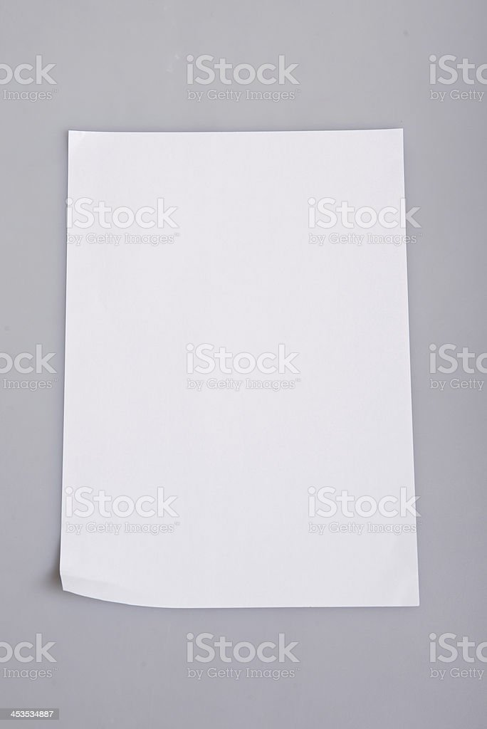 A4 print paper royalty-free stock photo