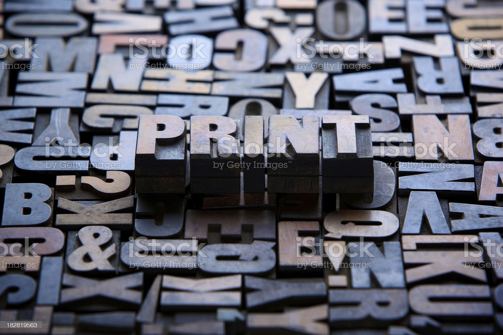 Print... royalty-free stock photo