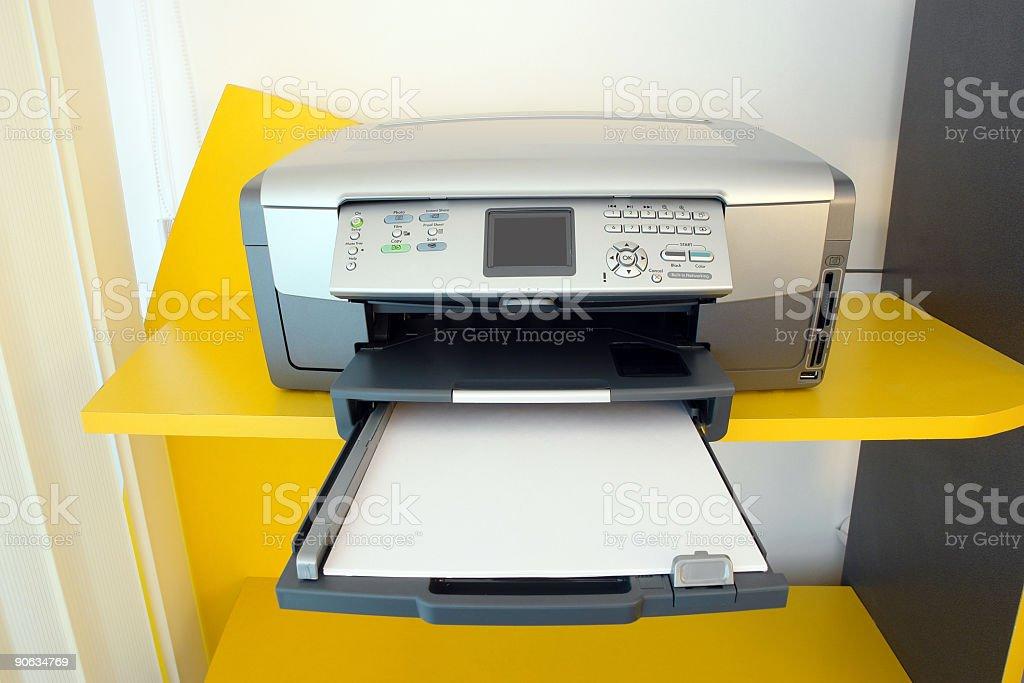 Print, scan, copy royalty-free stock photo