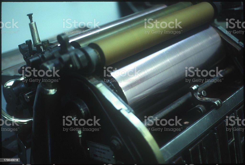 Print Shop stock photo