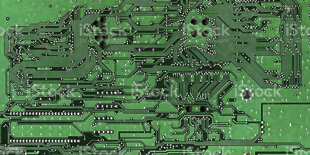 Printed circuit board royalty-free stock photo