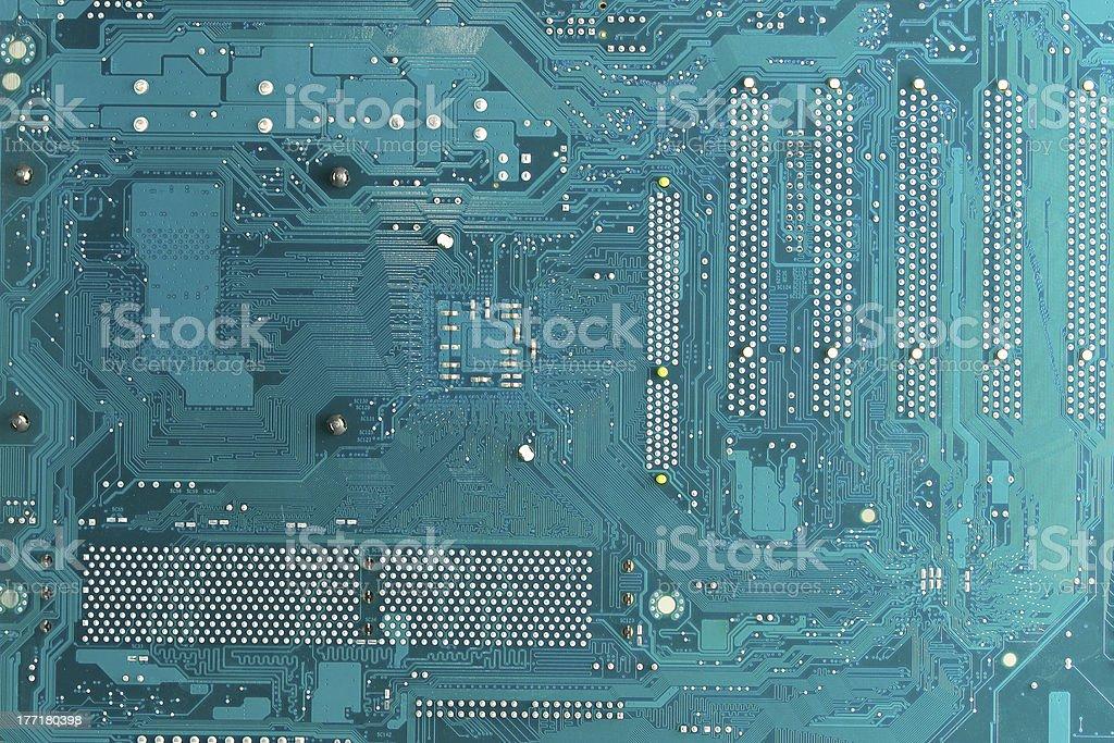 printed circuit royalty-free stock photo