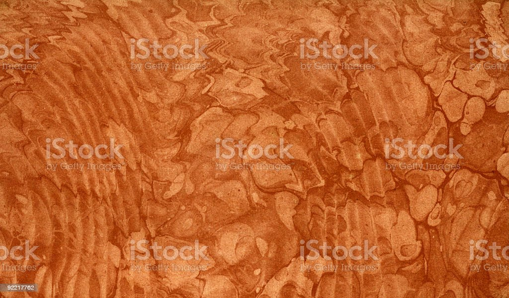 Printed marbling with coarse screen royalty-free stock photo