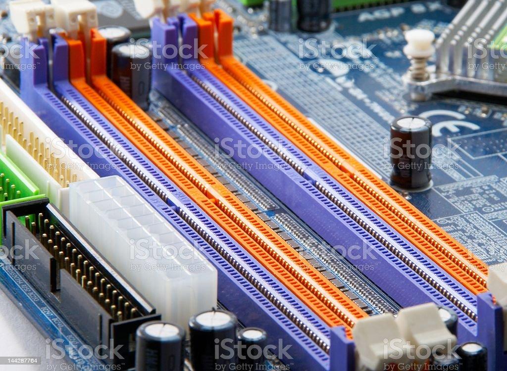 Printed-circuit-board  royalty-free stock photo