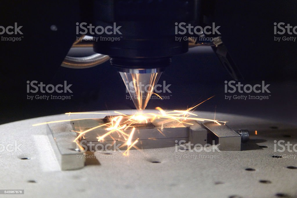 3D printer for metal stock photo