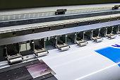 Printer ingjet device machine running motion vinyl