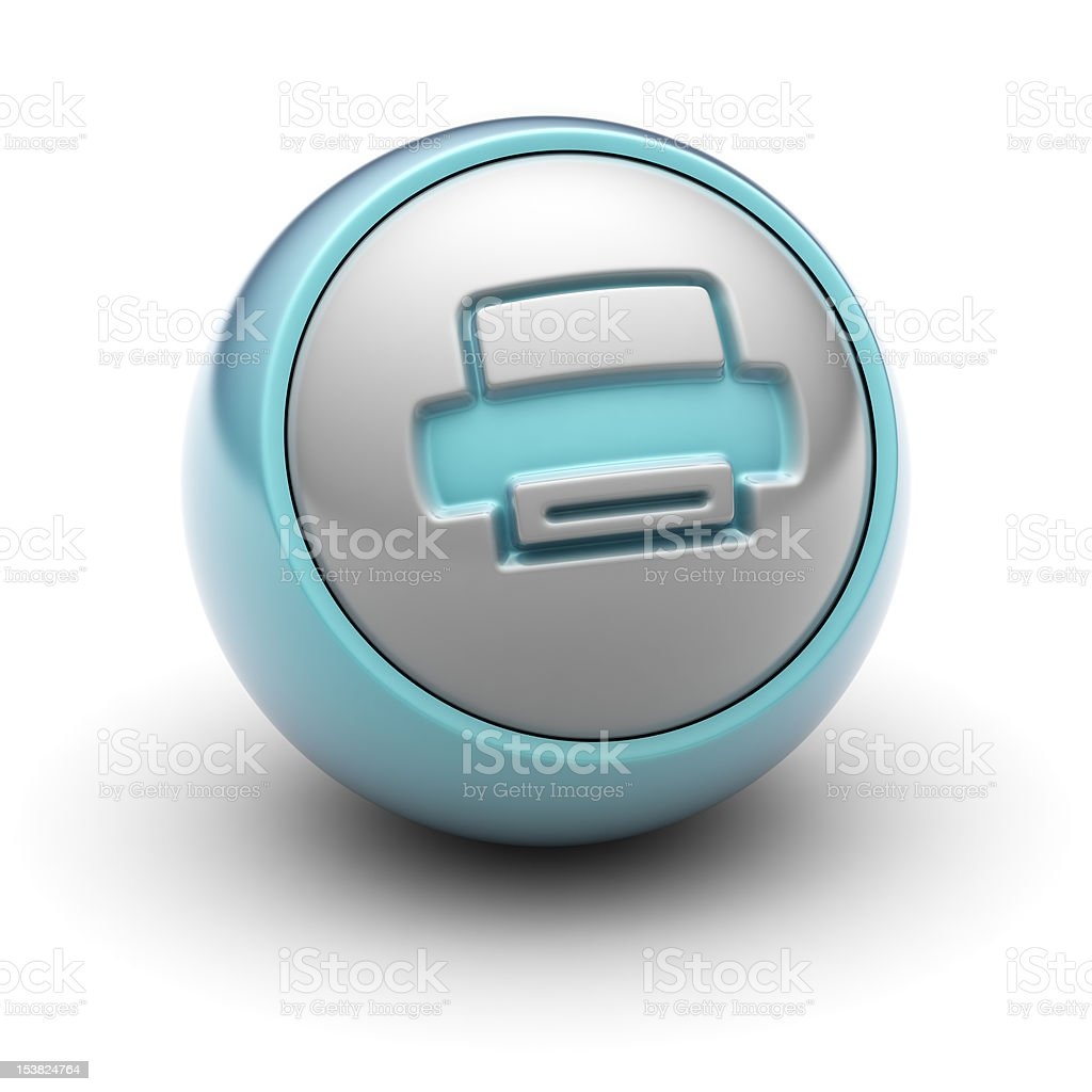 Printer royalty-free stock photo