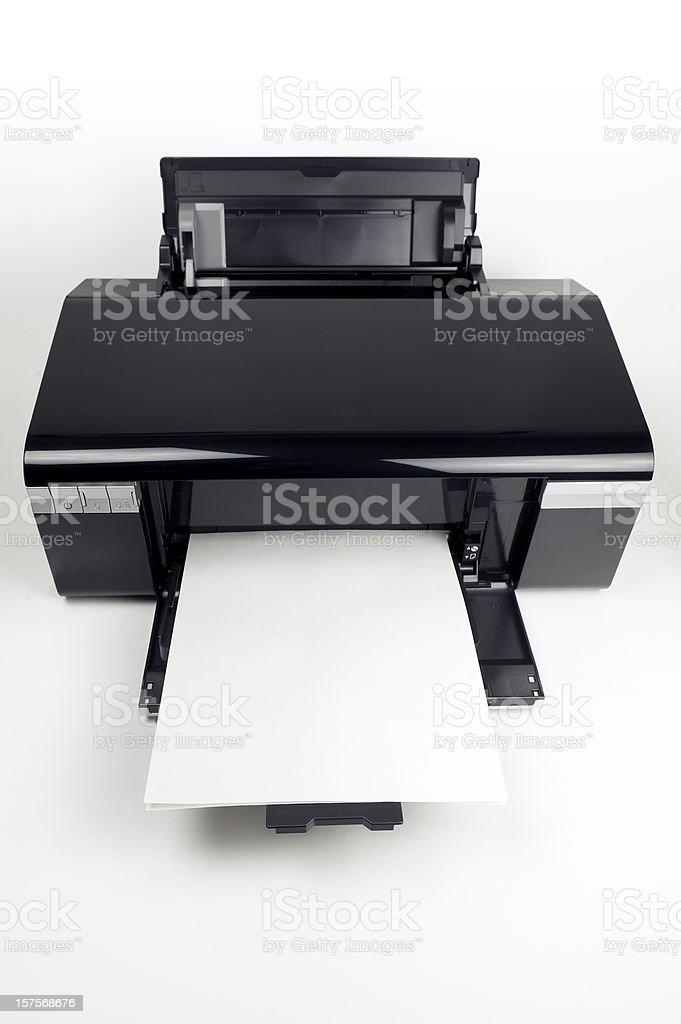 Printer royalty-free stock photo