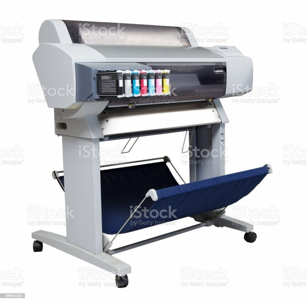 Printer... royalty-free stock photo