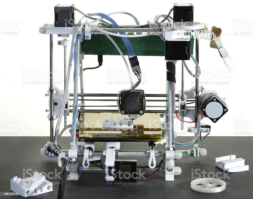 3D Printer royalty-free stock photo
