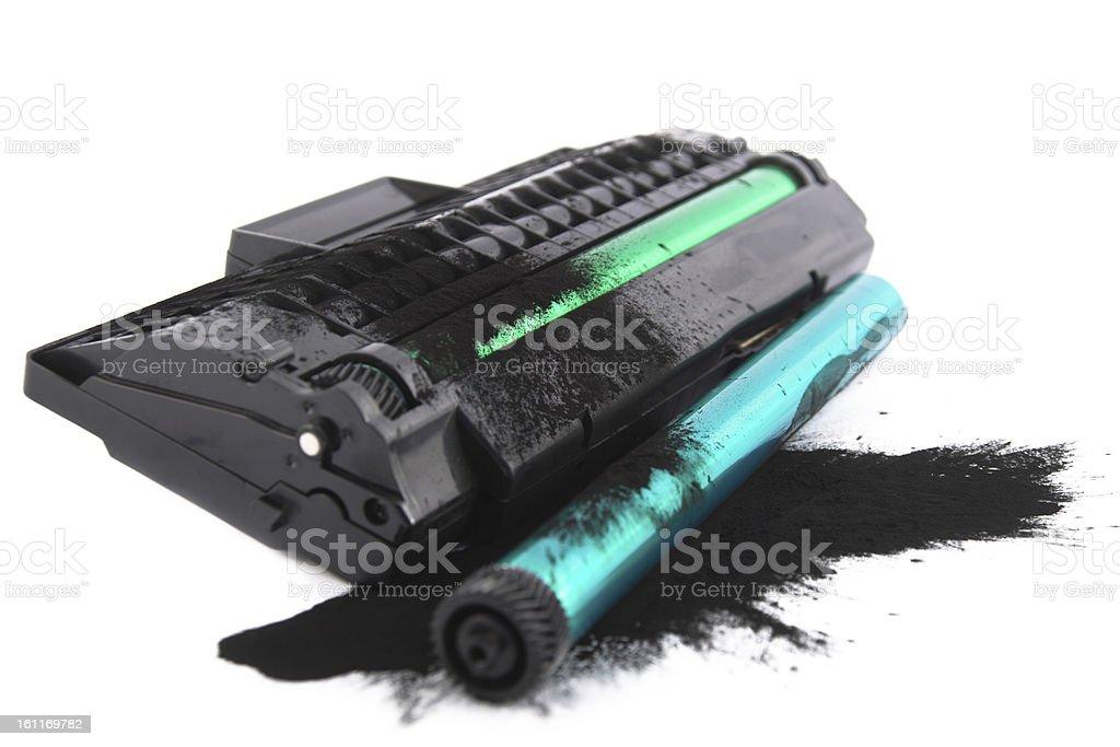 Printer toner cartidges stock photo