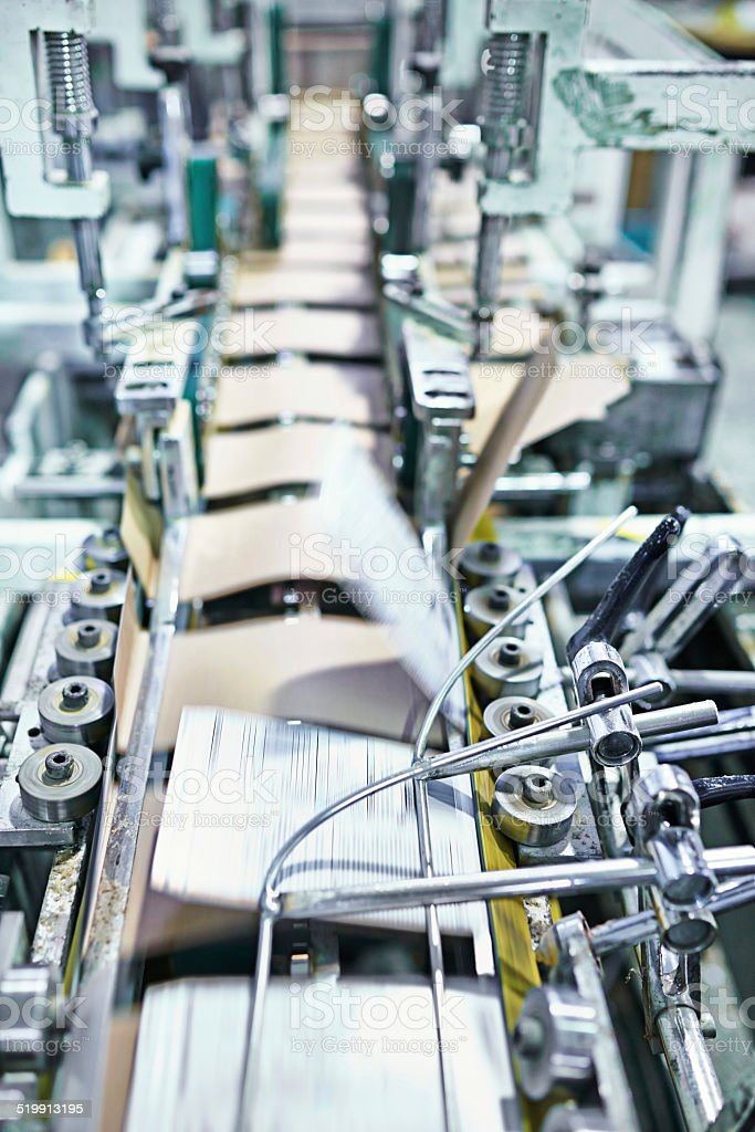 Printing automation stock photo