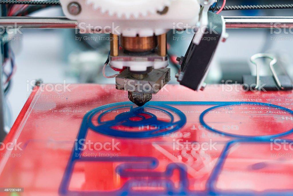 3D Printing machine  ck Photo: stock photo