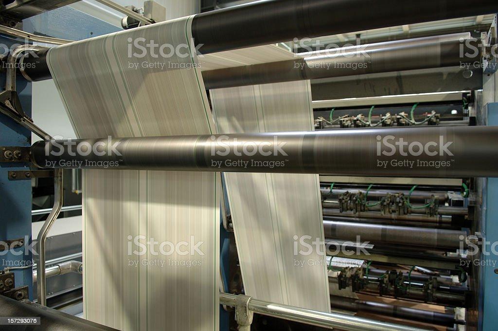 Printing machine #3 royalty-free stock photo