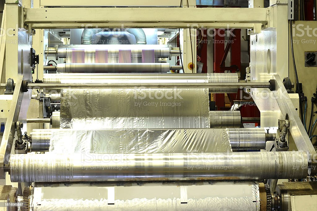 Printing machine royalty-free stock photo