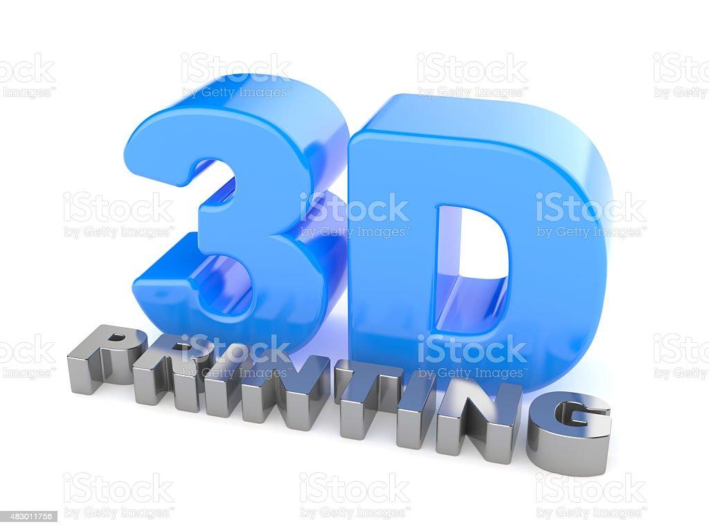 3D Printing stock photo