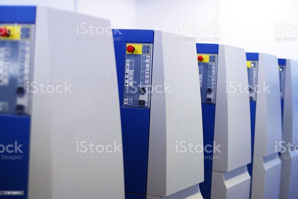 Printing Press machine royalty-free stock photo