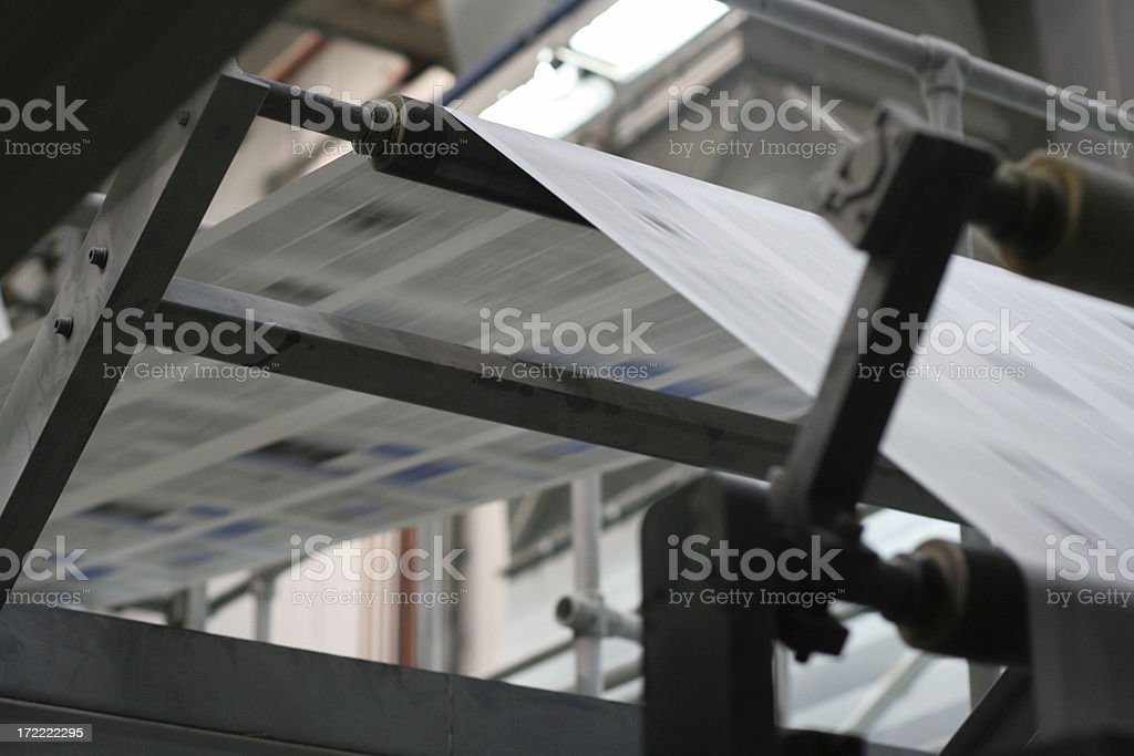 printing process royalty-free stock photo