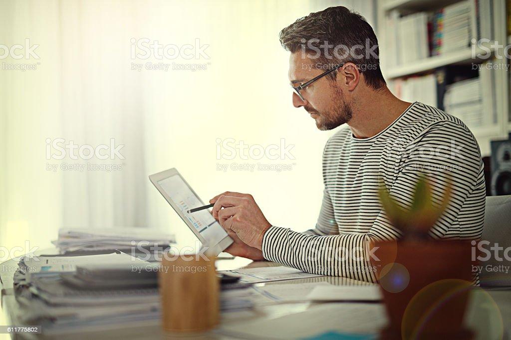 Prioritising business tasks is key stock photo