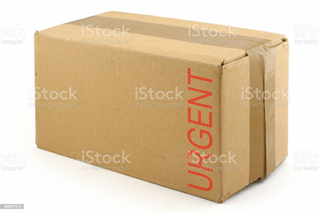 priority package royalty-free stock photo