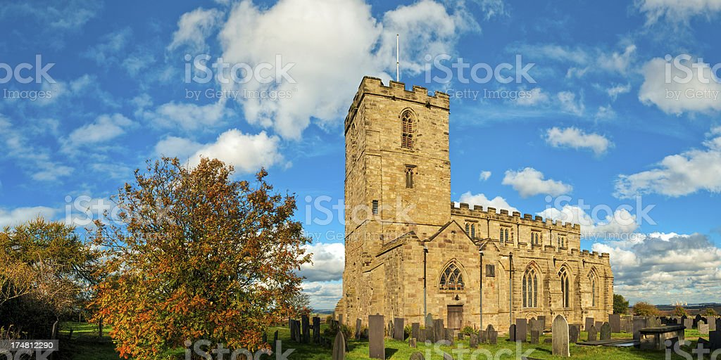 Priory Church, Breedon on the Hill, Leicestershire, UK stock photo