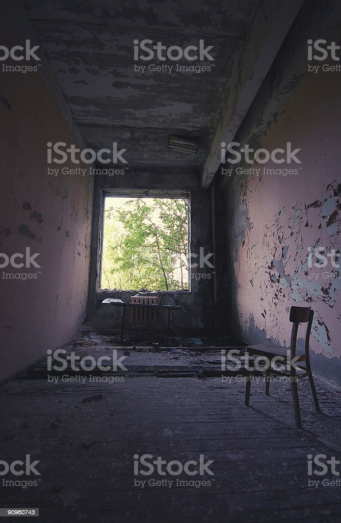 Pripyat, close to Chernobyl, Ukraine (Formerly USSR / Russia) stock photo