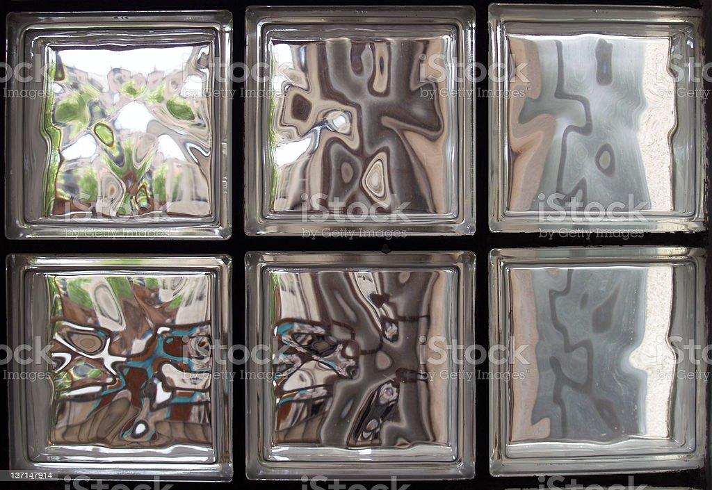 prism glass window royalty-free stock photo