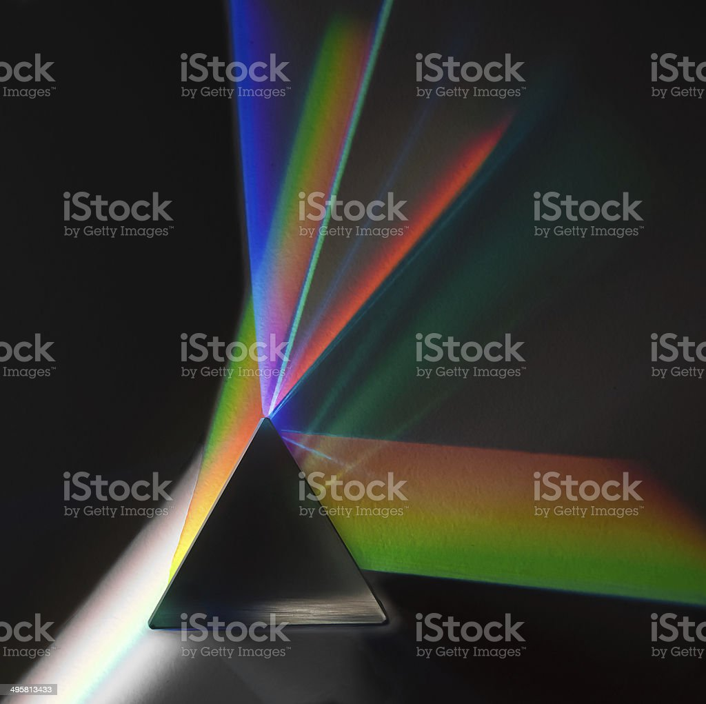 Prism Light stock photo