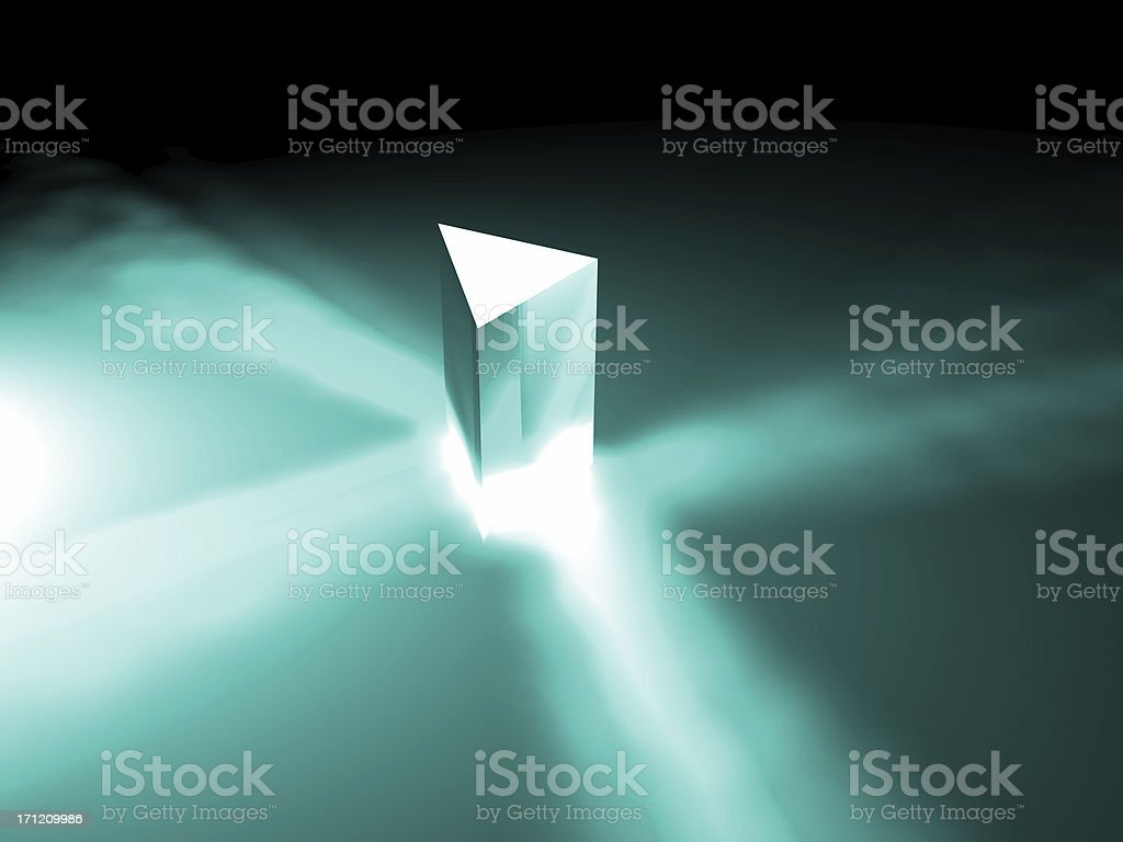 prism monochrome royalty-free stock photo