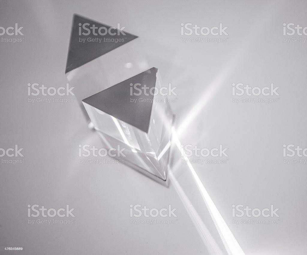 Prism stock photo