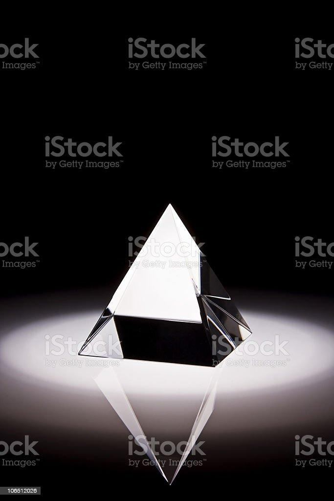 Prisma de Cristal stock photo