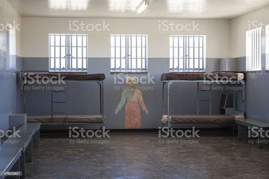 Prison Cell stock photo
