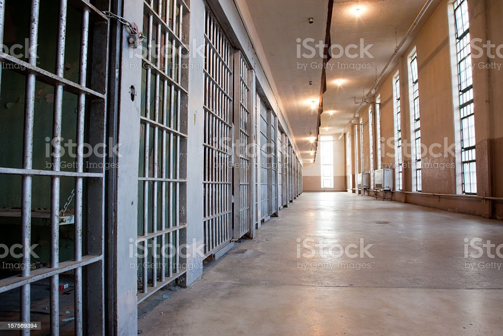 Prison Cells stock photo