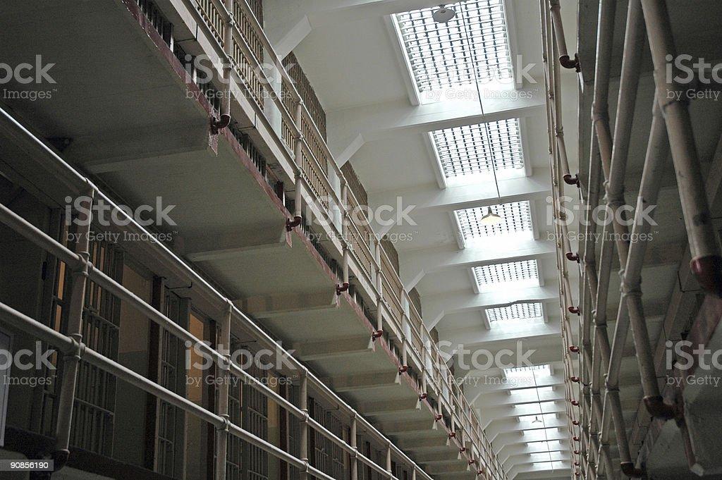 Prison Cells stock photo
