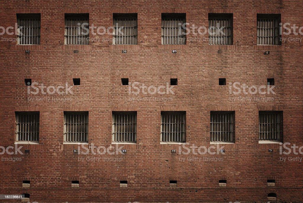 Prison Exterior royalty-free stock photo