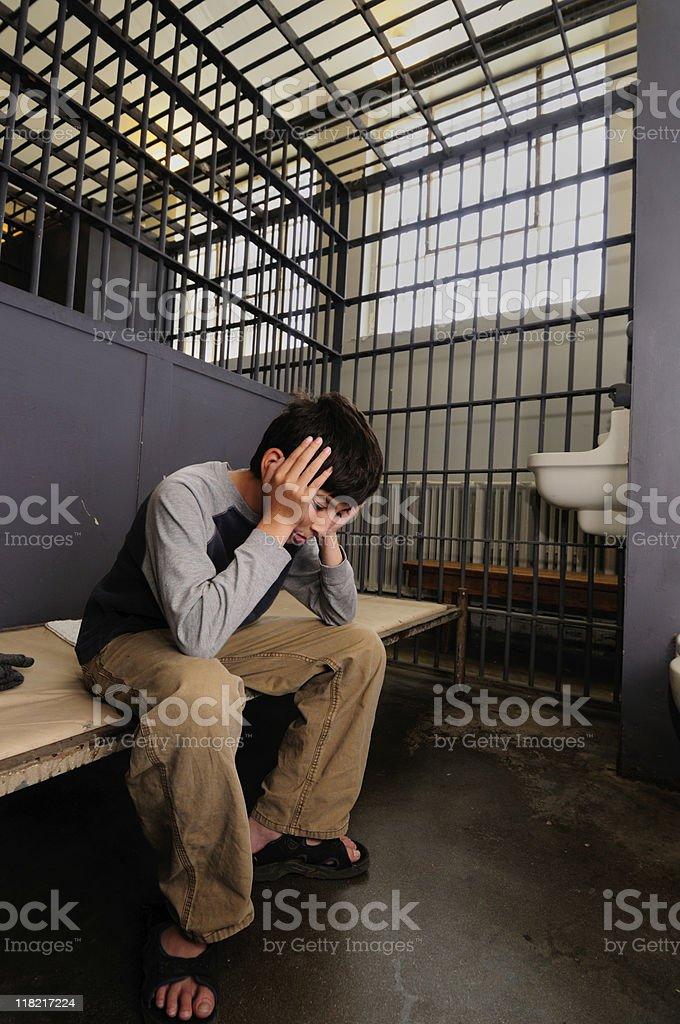 Prison royalty-free stock photo