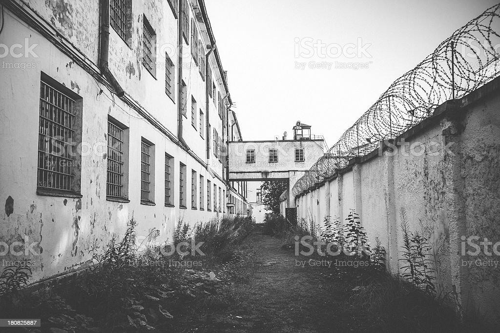 Prison. stock photo