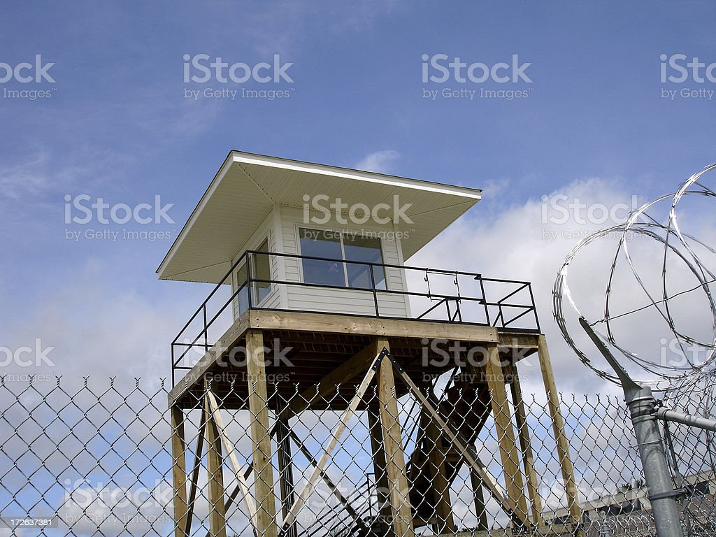 Prison Tower 2 royalty-free stock photo
