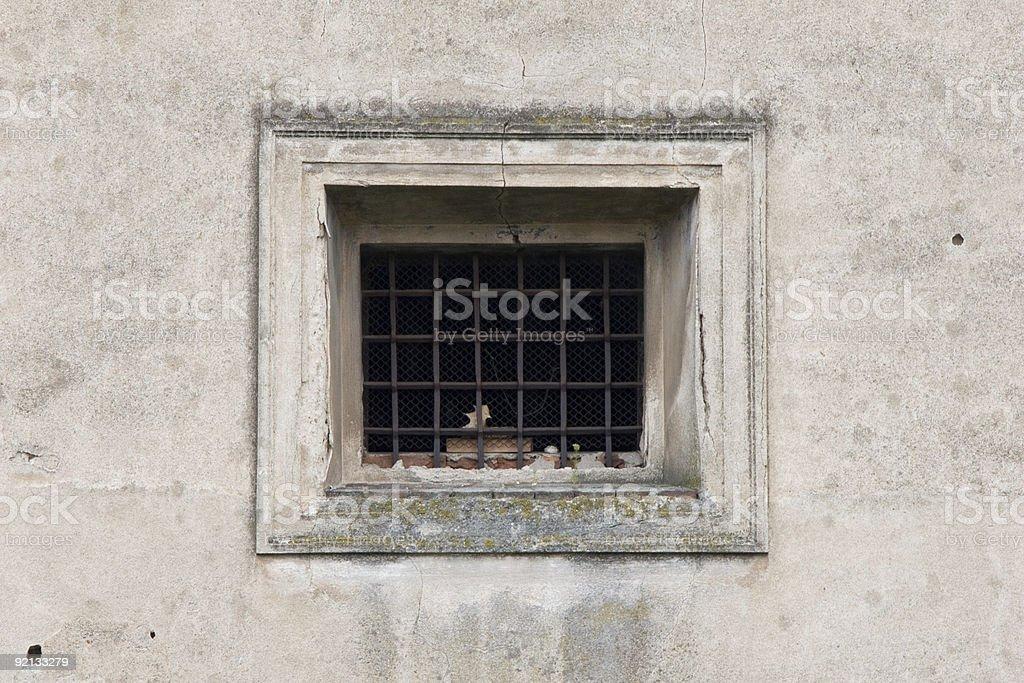 prison window royalty-free stock photo