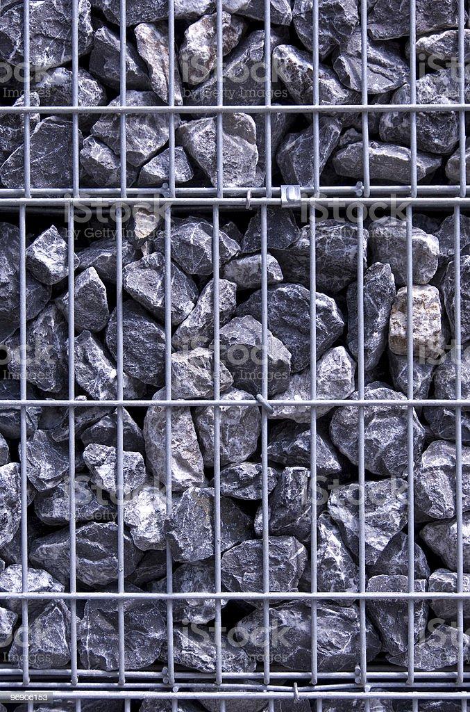 Prisoned stones stock photo