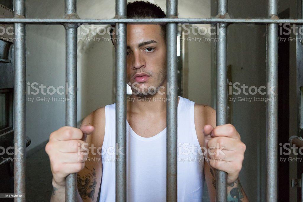 Prisoner - Incarceration stock photo