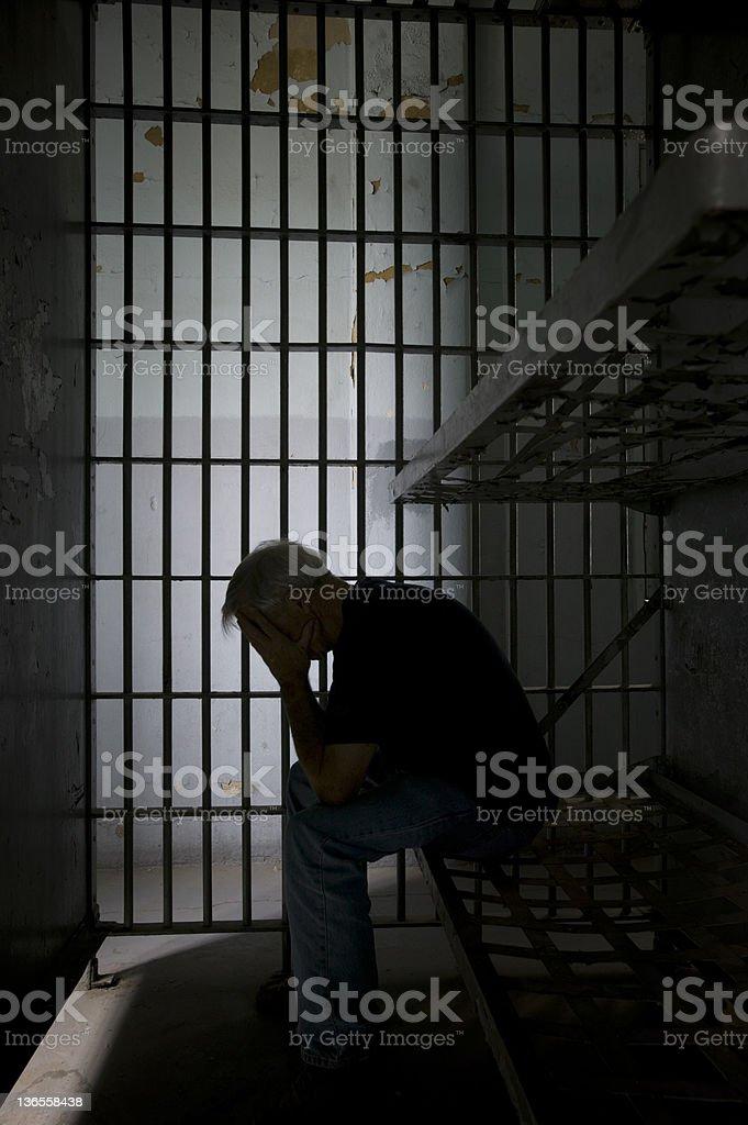 Prisoner stock photo