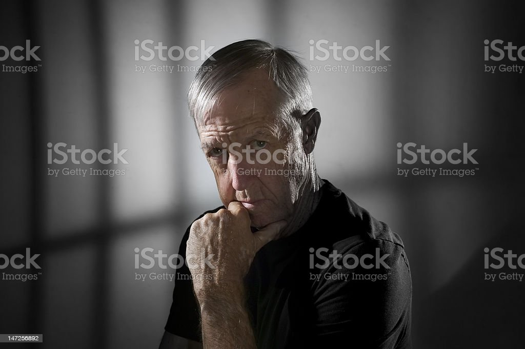 Prisoner royalty-free stock photo