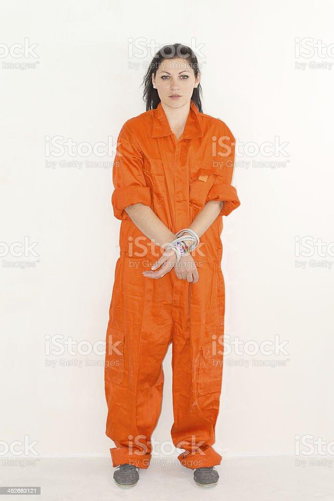 Prisoner royalty-free stock photo