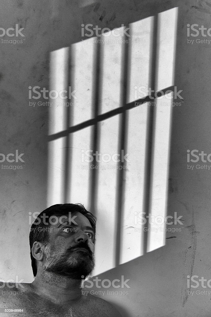 Prisoner stock photo