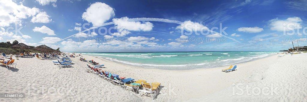 Pristine Tropical Beach stock photo