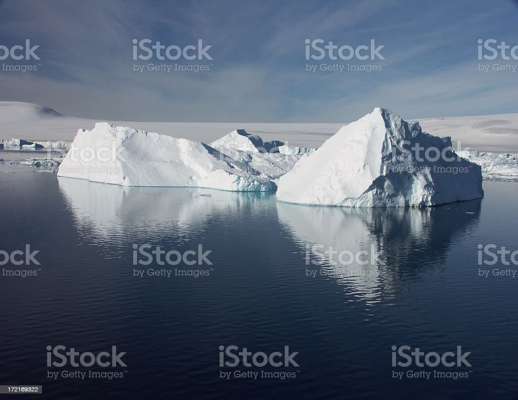Pristine wilderness stock photo