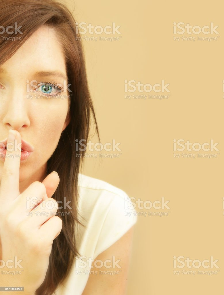 Privacy royalty-free stock photo