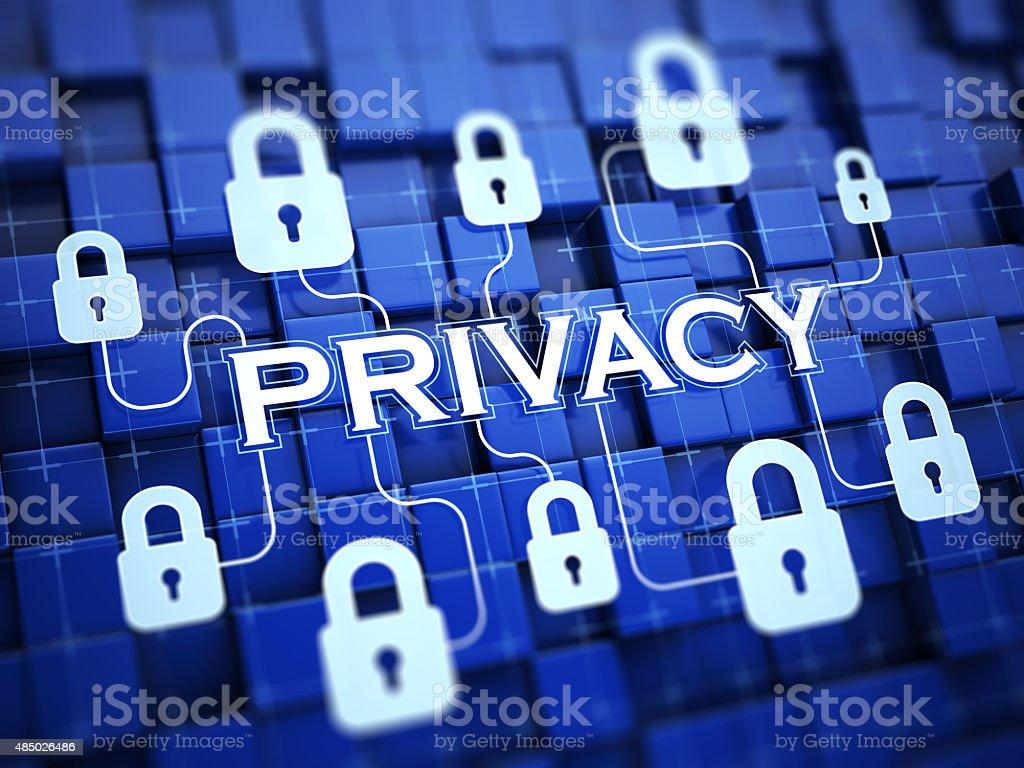 Privacy stock photo